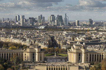 View of the business district of Paris