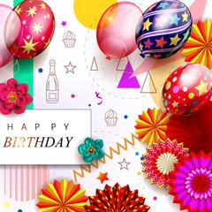 Birthday background 3