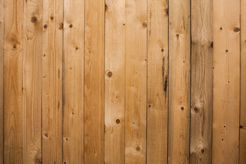 Wood texture background, wooden panels close up. Grunge textured image. Vertical stripes