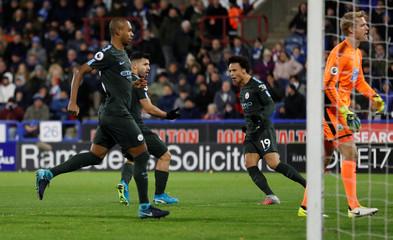 Premier League - Huddersfield Town vs Manchester City