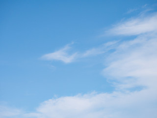 beautiful blue sky background with cloud