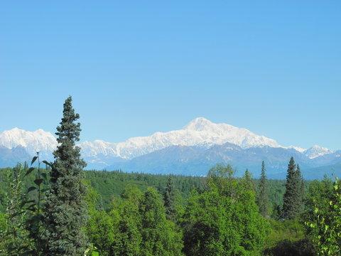 Denali in Alaska Range
