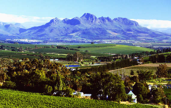 South Africa: Stellenbosh Wine-region | Südafrika: Die Weinregion Stellenbosch