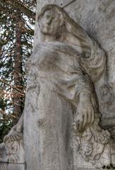Détail du monument aux Morts de Pont-d'Ain, Ain, France