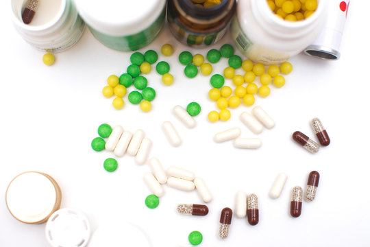 Different tablets, from many diseases