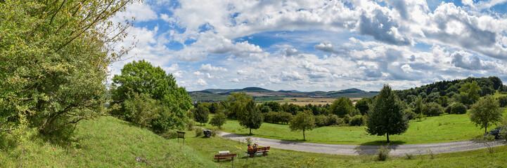 Panorama Rhön - Land der offenen Fernen