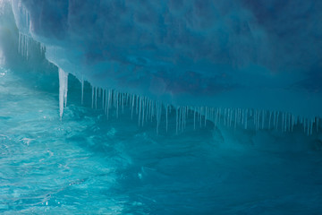 Close-up ice berg