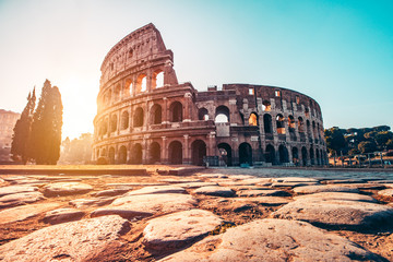 Fototapete - The Roman Colosseum