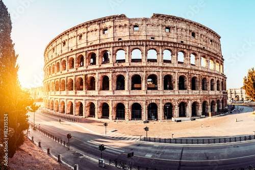 Fototapete The Roman Colosseum