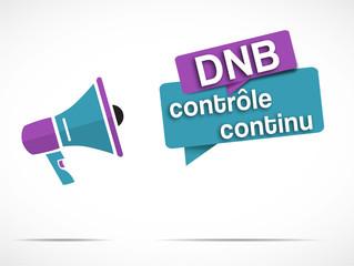 megaphone DNB : contrôle continu