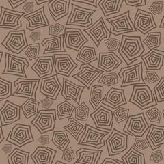 Turtle Shell Seamless Pattern