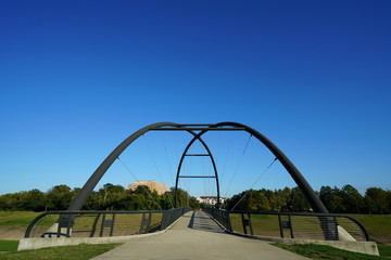 Bridge in a City Park