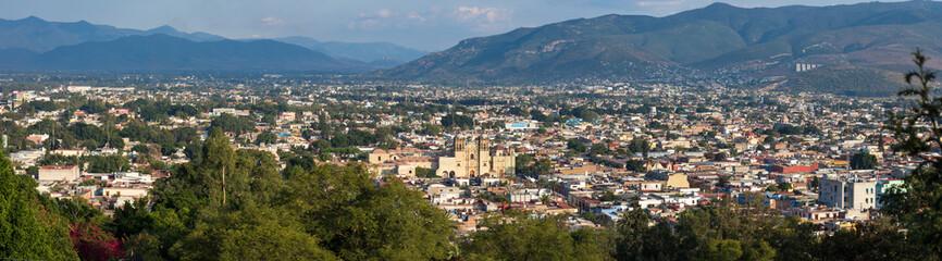 Vue panoramique de Oaxaca, Mexique