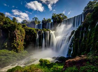 Photo sur Toile Brésil Iguazu Waterfalls Jungle Argentina Brazil