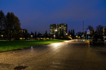 Malmö Rainy Night