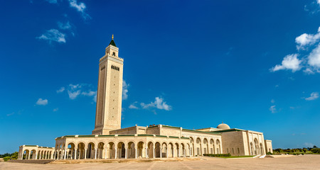 Malik Ibn Anas Mosque in Carthage, Tunisia