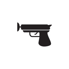toy gun with Velcro icon. Toy element icon. Premium quality graphic design icon. Baby Signs, outline symbols collection icon for websites, web design, mobile app
