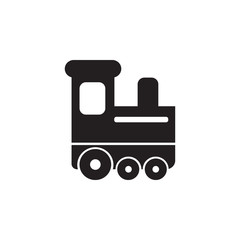 childrean train icon. Toy element icon. Premium quality graphic design icon. Baby Signs, outline symbols collection icon for websites, web design, mobile app