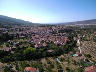Hervás, pueblo español de la provincia de Cáceres ( Extremadura, España)