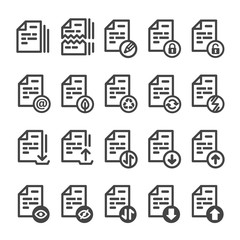 document management icon,editable stroke