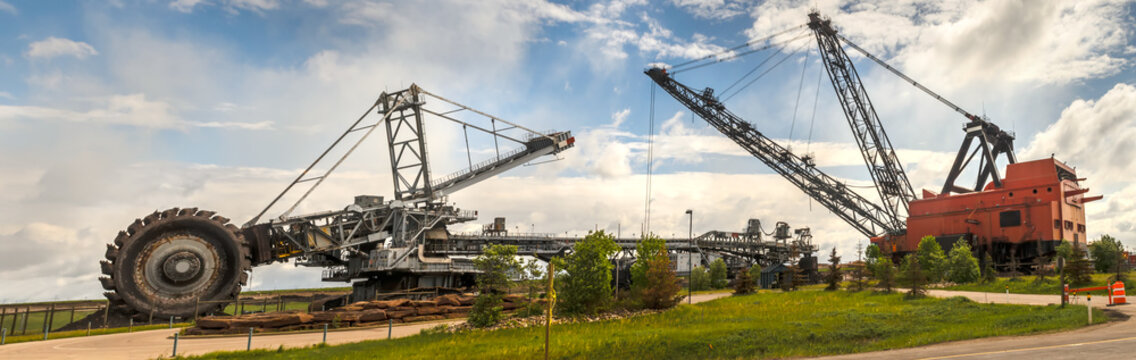 Heavy equipment for oil sands industry