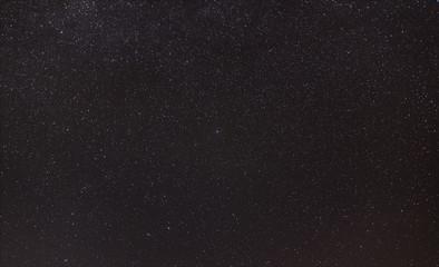 The northern star Polaris and the celestial polar region