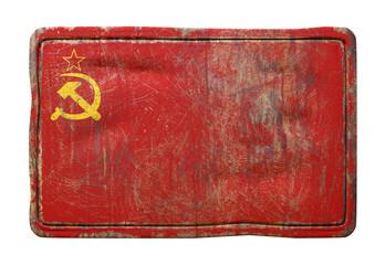 Old Soviet Union flag