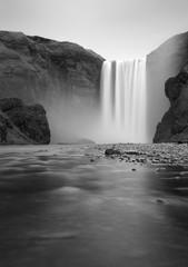 Iceland waterfall - Skogafoss - 182363730