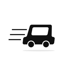 Car truck icon illustration design