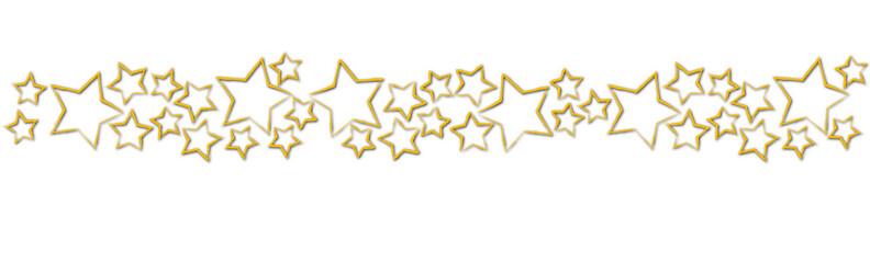 ein Banner mit roten Sternen Weihnachten Karte