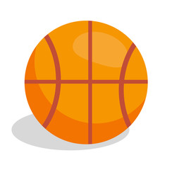 Basketball Soccer Ball Vector Illustration Isolated