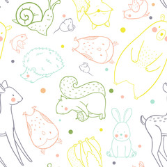 Baby vector pattern