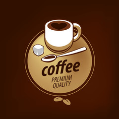 vector logo for coffee