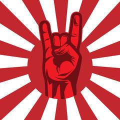 Starbust Metal hand