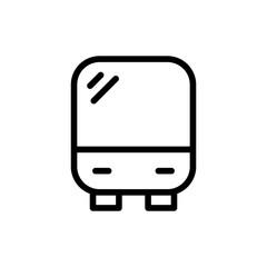 Bus flat icon