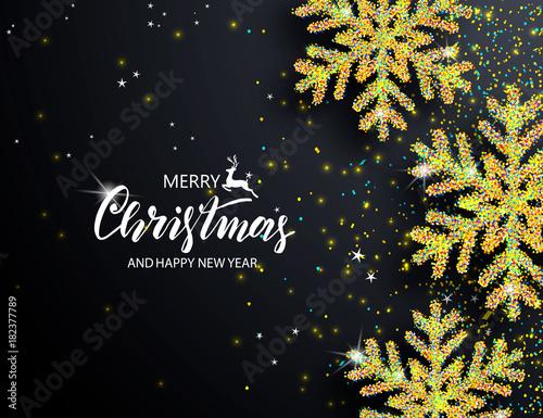 Elegant Christmas Background Images.Elegant Christmas Background With Shining Snowflakes Vector