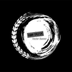 Grunge Off Road Tire Element