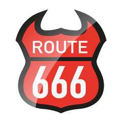 666 - route 666 - diable - enfer - Satan - symbole - Amérique