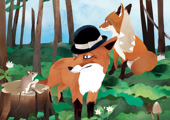 Fox wedding