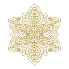 Mandala Ornament Vector Illustration