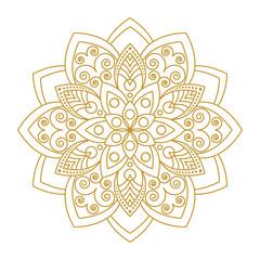 Mandala Ornament Vector Illustration