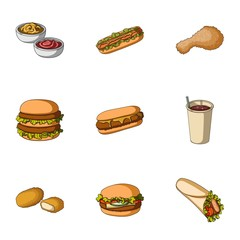 Food, lunch, fast and other web icon in cartoon style.Piello, cream, sauce, icons in set collection.