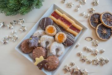 Fotobehang Eten Weihnachtsplätzchen