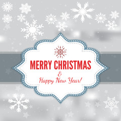 Christmas Background Card Design