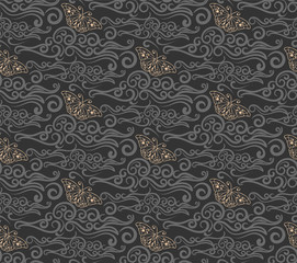 Background pattern Asian texture: Chinese, Japanese, Indian, Arabic