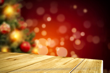 table background christmas