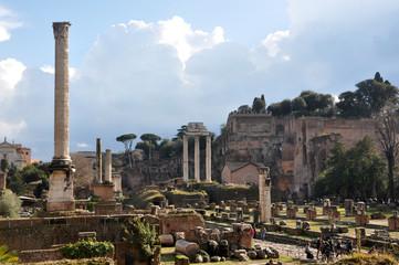 Foror romano ruins