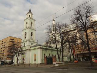 Церковь Троицы Живоначальной на Шаболовке.