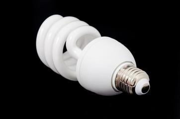 Fluorescent spiral lamp