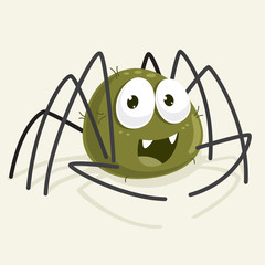 Spider Vector Illustration